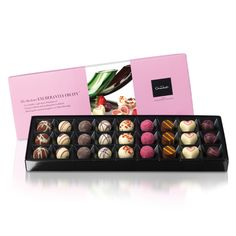 Fruity cocolate! yum :-) Exuberantly Fruity™ Selection by Hotel Chocolat