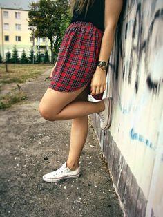 Radziok DIY: mens shirt into skirt