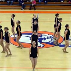 'What Room Does Fear Have?' High School Dance Team's Performance Goes Viral - Life Style Dance Team Uniforms, Dance Team Shirts, Pole Dance Moves, Dance Tips, High School Dance, School Dances, Dance Team Photography, Dance Senior Pictures, Viral Dance