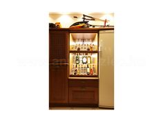 Italos szekrény megvilágítása LED szalaggal Liquor Cabinet, Storage, Furniture, Home Decor, Purse Storage, Decoration Home, Room Decor, House Bar, Home Furnishings