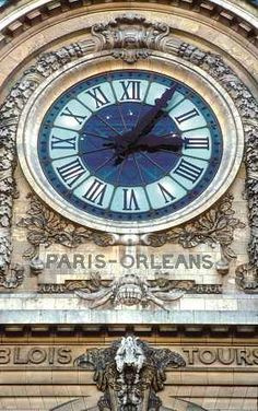 The clock of the Musée d'Orsay – a former train station (Gare d'Orsay) turned museum in Paris. The architect responsible for the conversion, Jean Philippon, also turned an art deco swimming pool into a museum in Roubaix, near Lille. The clock has become one of the best loved features – whether you are looking at the front of it or the back…. Armchair Paris | Paris in photos