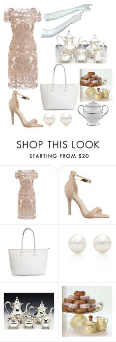 """Tea party"" by nessiepooh ❤ liked on Polyvore featuring Tiffany & Co. and Lenox"