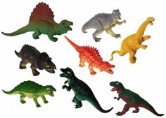 Amazon.com : Toy Dinosaurs Figures for Kids of All Ages - Includes 12 Large - Large Jumbo Plastic Dinosaurs - Educational Training Toys for ...