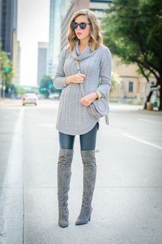 Cowl Neck Sweater • For the Love of Fancy