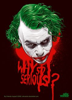 THE JOKER by AtixVector.deviantart.com on @deviantART