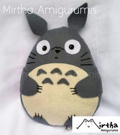 Totoro felt plushie by @mirthamigurumis  #felt #anime #totoro #ecuador