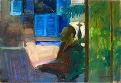 ArtZone 461 Gallery - Bay Area Figurative Paintings and Drawings - Paul Wonner - 09