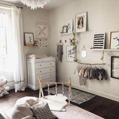 Neutral nursery inspiration featuring the Boori 4 Drawer Dresser.
