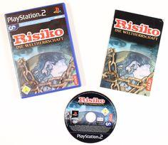 Risiko - Die Weltherrschaft für Playstation 2 in OVP!