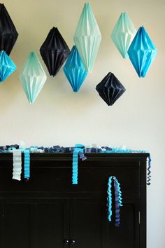 DIY Geometric Lanterns
