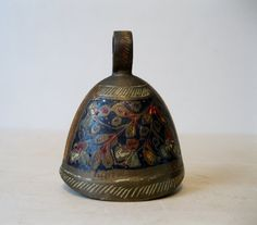 Vintage Brass Bell of India by Suite22 on Etsy, $8.00