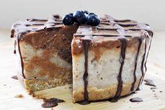 Raw Vegan Breakfast Ice Cream Cake - The Colorful Kitchen