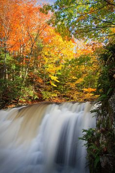 Wadsworth Falls State Park, Connecticut; photo by .Enzo Figueres