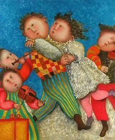 RODO BOULANGER | Graciela Rodo Boulanger 1935 | Bolivian painter | Tutt'Art@ | Pittura ...