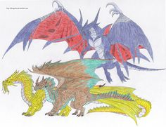 final fantasy and dungeons & dragons pencil drawing