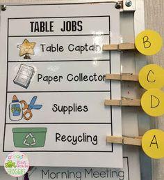 Organizational Tip: Student Supplies - Fantastic First Grade Froggies Classroom Procedures, Classroom Jobs, 4th Grade Classroom, Classroom Behavior, Classroom Setup, Classroom Management, Behavior Management, Classroom Control, Student Supply Organization
