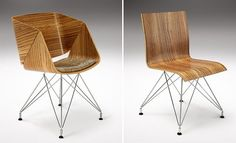 Tub & Plywood Chair from the Weightless Collection :: Haldane Martin