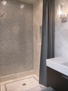 The Tile Shop: Design by Kirsty: New Meram Blanc Bathroom - love this for our master!