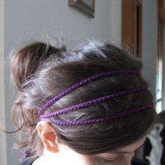creativeyarn: Simple Crochet Headband