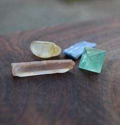 Unearthing gemstone bundle :: A little bag of gemstones to support you as you dig in deep and unearth your stories and your truth and look at where you've been and where you want to go in your life.