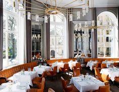 Northall Restaurant at The Corinthia Hotel, London // David Collins London Hotels, London Places, Hotel Restaurant, Restaurant Design, Commercial Design, Commercial Interiors, Phuket, Voyage Dubai, David Collins