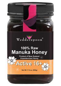 Wedderspoon Organic 100% Raw Manuka Honey ACTIVE 16+, 17.6 Ounces , Honey #vitaminshoppecontest @The Vitamin Shoppe