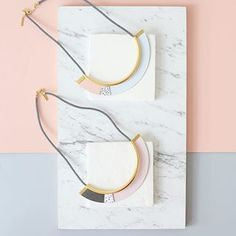 Memphis Necklace  Shlomit Ofir Jewelry Design