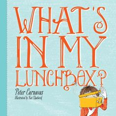 New Frontier Publishing Illustrated by Kat Chadwick Today in my lunchbox I happened to find. What could be inside the lunchbox? Reluctant Readers, Children's Literature, Book Review, Childrens Books, Books To Read, Funny Pictures, Lunch Box, Hilarious, Author