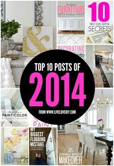 Top 10 Posts of 2014 (and a bit of sad news).