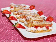 Chili und Ciabatta: Erdbeer-Eclairs