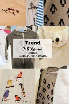 TREND BIRDS ANIMAL prints AW 2014/2015 kids fashion kidswear playtime paris
