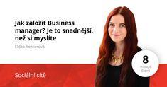 Jak založit Business manager?