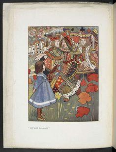 Alice's Adventures in Wonderland by Charles Robinson, 1907.