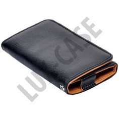 Amecs SmartPhone Pouch with Credit Card Slot (Black)