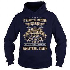 BASKETBALL COACH T Shirts, Hoodies. Check Price ==► https://www.sunfrog.com/LifeStyle/BASKETBALL-COACH-Navy-Blue-Hoodie.html?41382