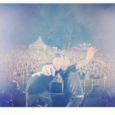 DJ Fresh and Messy MC (2014) (via realdjfresh/messymc on instagram)