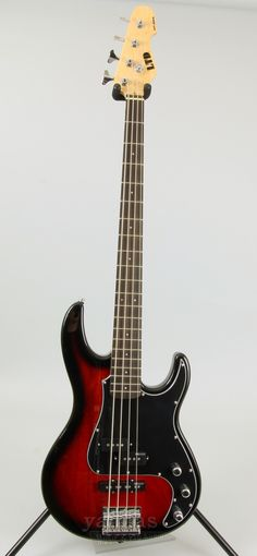 """LTD AP-204 Features - 4-String Bass Guitar - Mahogany Body - Rosewood Fingerboard - Bolt-On Maple Neck - 34"""" Scale Length - Thin U Neck Contour - Chrome Hardware - ESP Designed Pickups - 2-Band EQ - 2"""