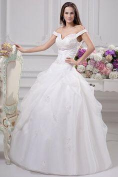 White Zipper Up Fall Misses Spring Rectangle Romantic Apple Beading Pick-Ups Wedding Dress
