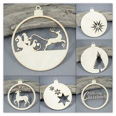 10cm-Baubles-Christmas-Tree-Decoration-MDF-Birch-Plywood-Laser-Cut-Wooden-Shape