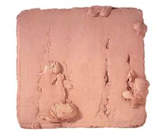 """Bram Bogart [Belgium] (1921-2012) ~ """"Hommage á Turner"""", 1996. Mixed media (165 x 180 cm). 