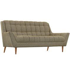 Modway Furniture Modern Response Fabric Loveseat