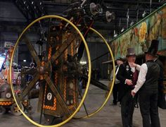 Steampunk Jahrmarkt