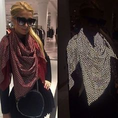 This Dude Invented A Trippy-Ass Scarf That Makes It Impossible To Take Photos Of Its Wearer