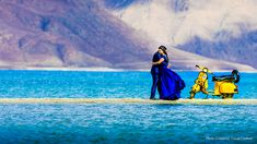Fierce winds, free-spirited camels and fabulous backdrops made Romil and Jinisha's pre-wedding shoot in Ladakh by Visual Crafters. Pre Wedding Shoot Ideas, Pre Wedding Poses, Beach Wedding Photography, Couple Photography, Photography Ideas, Indian Wedding Couple, Pre Wedding Photoshoot, Photoshoot Ideas, Best Wedding Photographers
