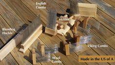 Hand-made Wool Combs