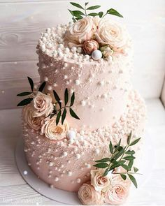 32 Jaw-Dropping Pretty Wedding Cake Ideas Blush Pink Two Tier Wedding Cake . - 32 jaw-dropping pretty wedding cake ideas blush pink two tier wedding cake mi cake decorating - Pretty Wedding Cakes, Wedding Cake Rustic, Elegant Wedding Cakes, Wedding Cake Designs, Pretty Cakes, Beautiful Cakes, Rose Wedding Cakes, Wedding Cake Cupcakes, Vintage Wedding Cakes