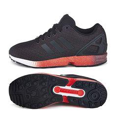 Adidas Originals ZX Flux Black Red Splatter AF6327 $199.00