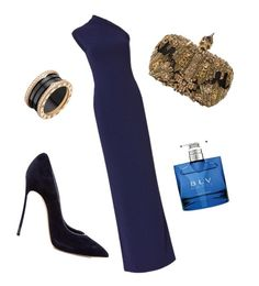 """""""Long-awaited appearance"""" by alexastiffler on Polyvore featuring мода, Solace, Casadei, Alexander McQueen и Bulgari"""