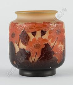 Vase, price at auctions for Émile GALLÉ