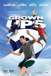Grown Ups 2 can't wait to see this one...